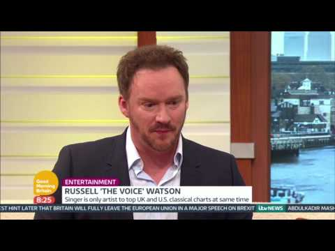 Russell 'the Voice' Watson | Good Morning Britain