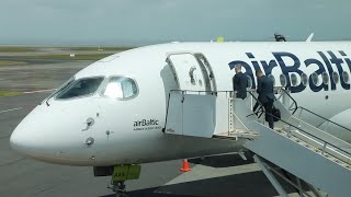 Airbus A220 300 Demo Tour New Zealand  2019 - Flight Experience.