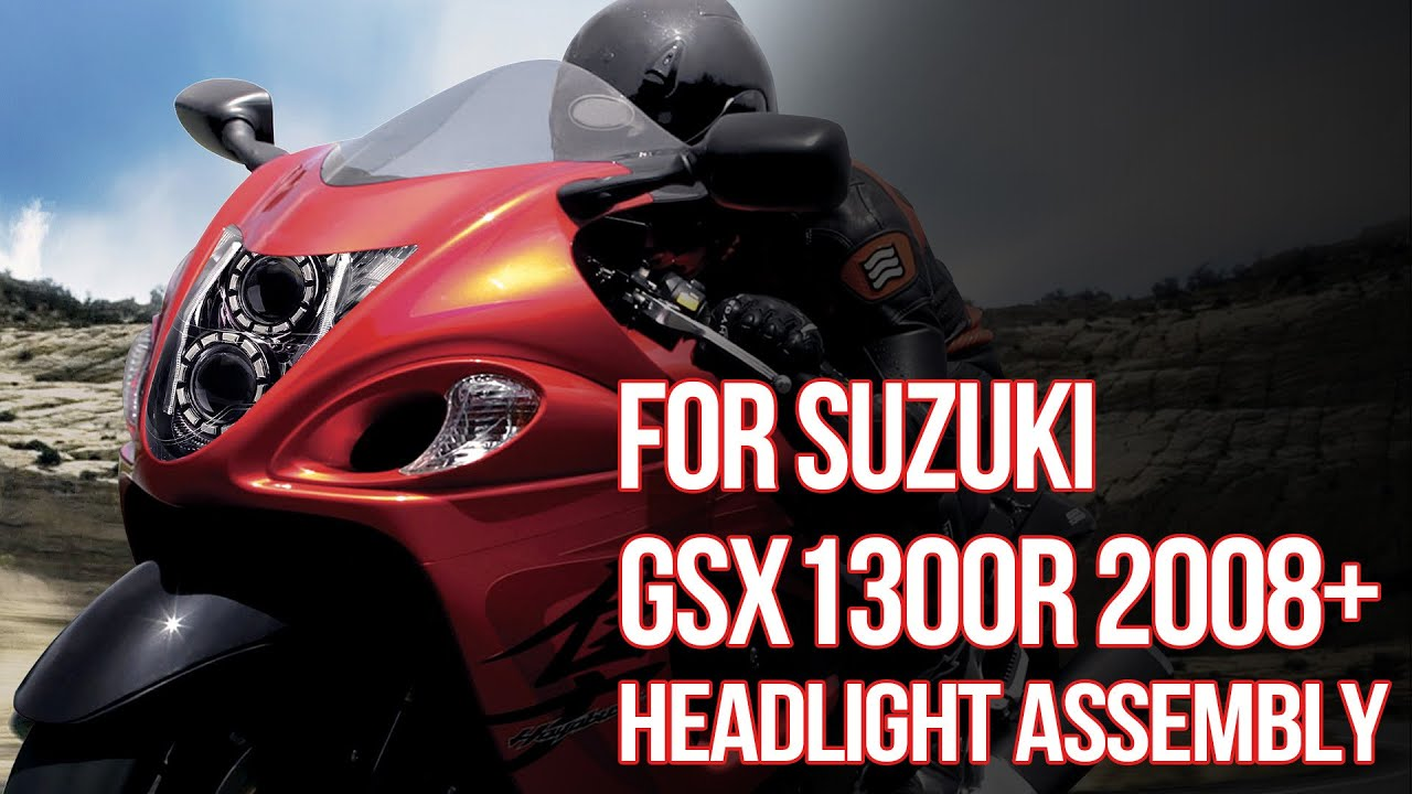 Full LED Headlight for Suzuki Hayabusa GSX1300R 2008 2018