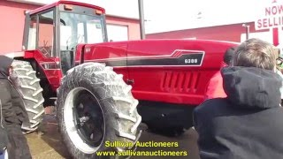 IHC 6388 Tractor with 3644 Hours Sold for Record Auction Price Today