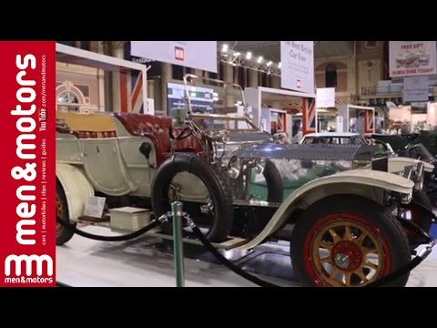 Men & Motors at Classic and Sports Car London Show 2015
