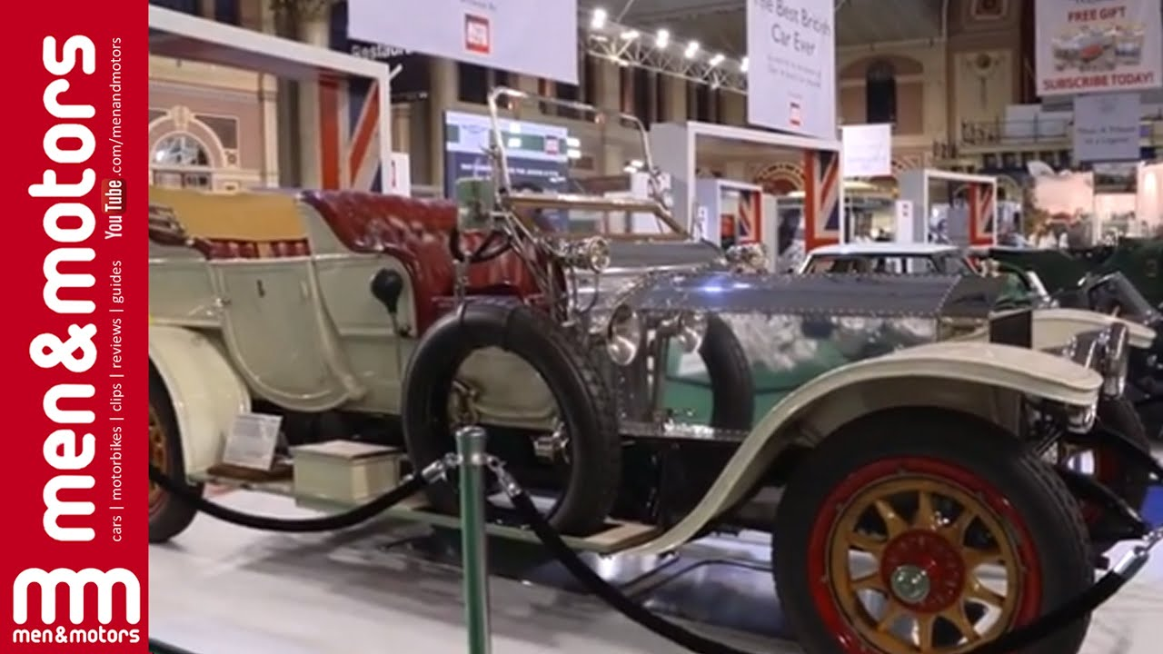 Men & Motors at Classic and Sports Car London Show 2015 - YouTube