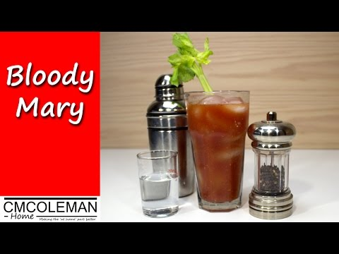 Easy Bloody Mary Using A Simple Mix - CMColeman home