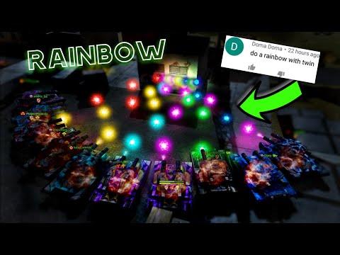 Making Rainbow In Tanki?! Challenges Video #58 - Tanki Online!