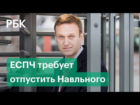 ЕСПЧ потребовал от российских властей освободить Навального