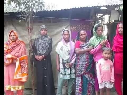 ভিক্ষা করে ৬ কন্যার মুখে খাবার তুলে দেন বিধবা তাহেরা খাতুন - Bdcurrentnews24-bd-current-news24-