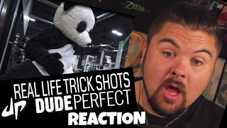 Real Life Trick Shots by DudePerfect Reaction