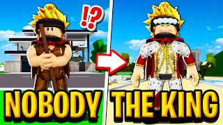 NOBODY to KING in Roblox BROOKHAVEN RP!!