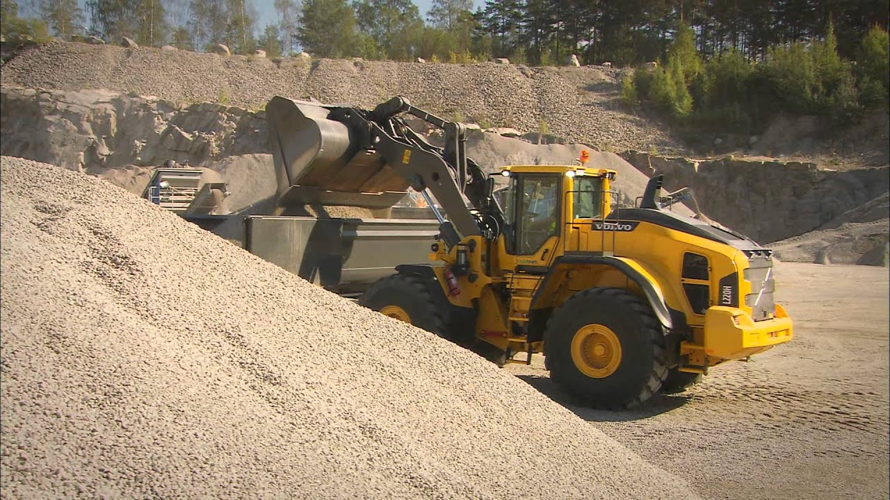 Volvo L150h L220h Wheel Loaders Promotional Video Youtube