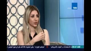 ملكة جمال سوريا ترد علي الفنان احمد ادم وتوجه له رسالة علي الهواء