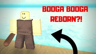 BOOGA BOOGA REBORN?! (Roblox Booga The Lost Sea)