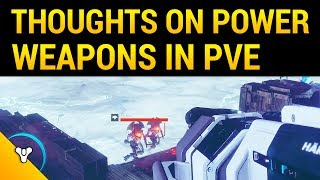 Destiny 2: Will Less Damage Capability Affect PvE?