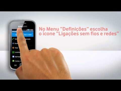 Samsung Galaxy Gio - Configuração de Wi-Fi