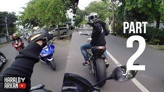 Dual Vlog Perdana! - Berantem Dijalan?!! (PART 2) #motovlog