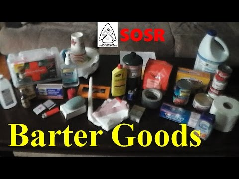 Barter Goods (From Selco's Interview)
