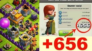 Best town hall 7 troll base with defense reply - clash of clans