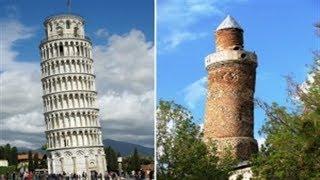 Pisa Kulesine Rakip Harput Ulu Cami Minaresi