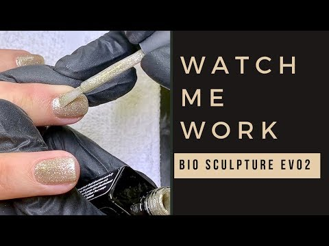 """FULL MANICURE/REAL TIME feat Bio Sculpture EVO2 """"CRYSTAL"""""""