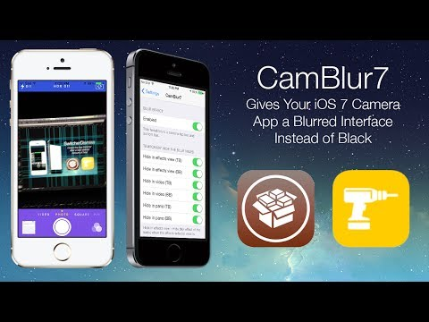 CamBlur7: Gives Your IOS 7 Camera App A Blurred Interface Instead Of Black