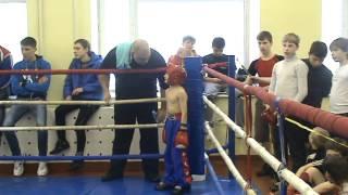Роман Ковалёв.Кикбоксинг г.Озёры 25.02.2012г.