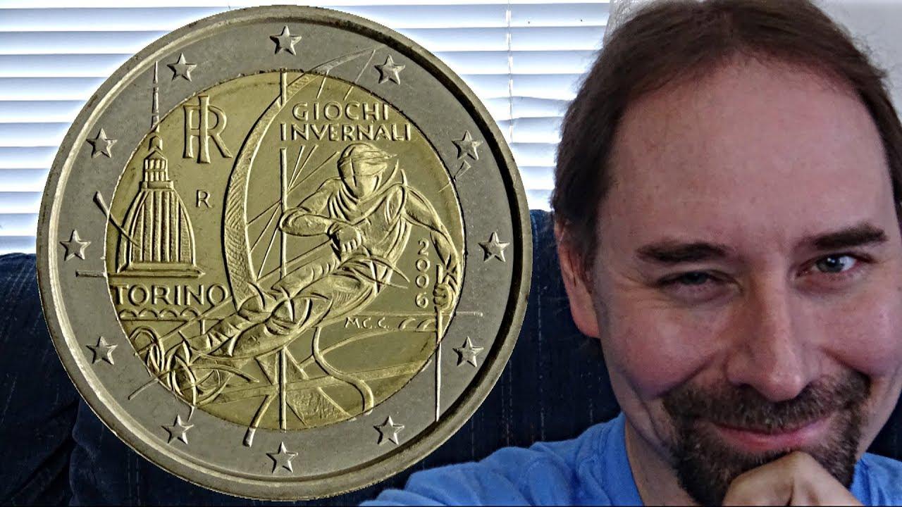 Italy 2 Euro 2006 Coin Torino Olympics Youtube