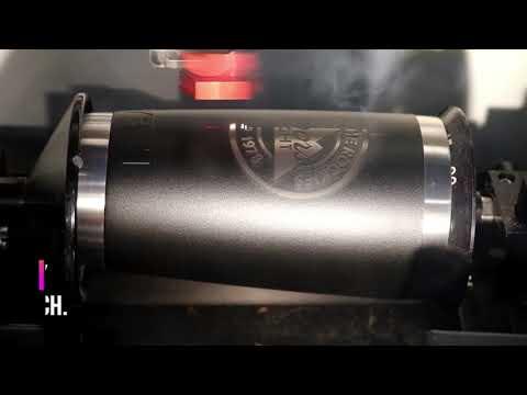 5686e6b9bdf How To: Laser Engraving a YETI Tumbler - YouTube