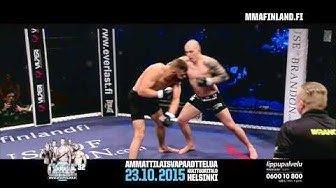 CAGE 32: Jussi Halonen Highlight (MMA)