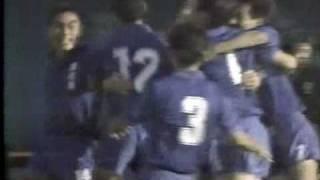 1989年高校サッカー予選 清水東vs東海大一 オーバーヘッド アデミールサントス 検索動画 11