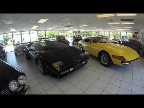 Showroom walk-around of Motorcar Gallery in Fort Lauderdale Florida