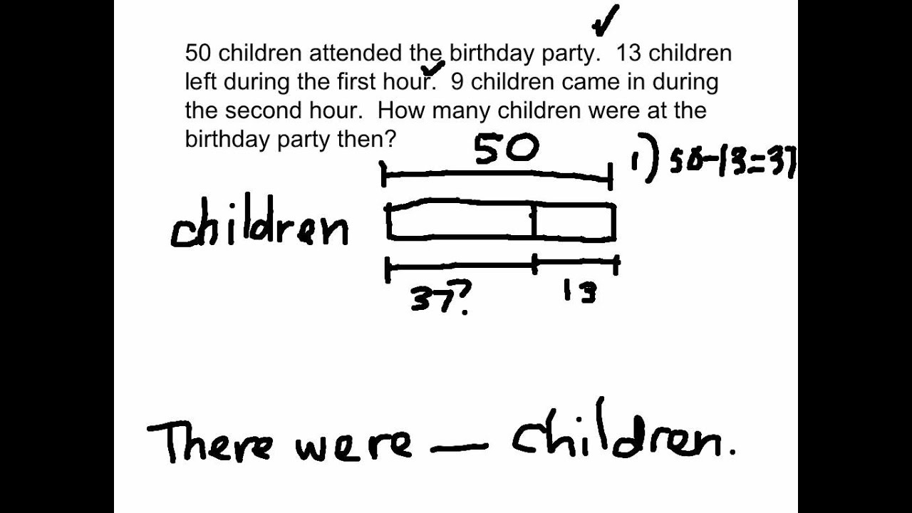 2OA1 TwoStep word problems YouTube – Two-step Word Problems Worksheet