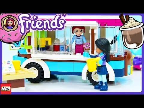 Lego Friends Hot Chocolate Van Snow Resort Set Review Build Silly Play - Kids Toys