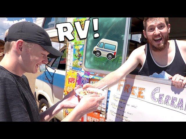 RV CEREAL TRUCK POP UP SHOP!