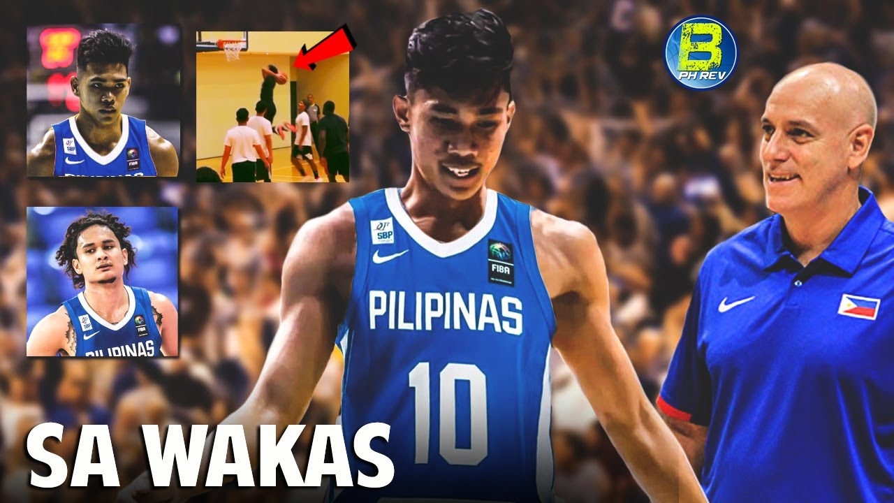Rhenz Abando - Mark Nonoy Ilalagay ni Coach Tab sa Gilas Pool |  JuanGDL Makakabalik