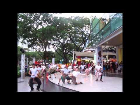 Indonesian Arts Festival 2015 Flashmob at Cathay Cineleisure Singapore