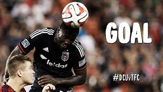 GOAL: Eddie Johnson heads one home after brilliant cross from Kitchen | D.C. United vs Toronto FC