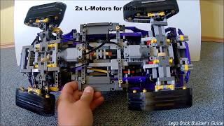 Lego Technic RC Motorized 42069 Extreme Adventure