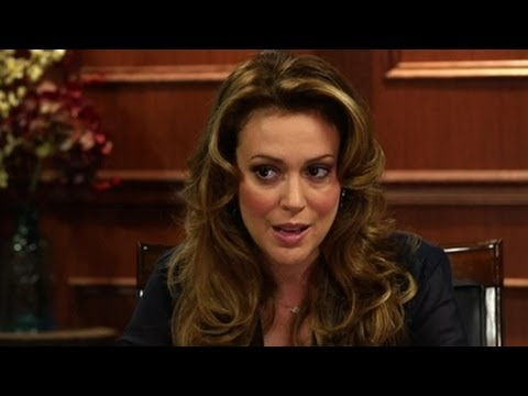"""Alyssa Milano On """"Charmed"""" And Other Hits and Misses    Larry King Now - Ora TV"""