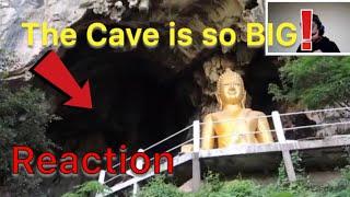 Thai Cave SO Big And Beautiful Erawan Cave Loei Thailand Reaction