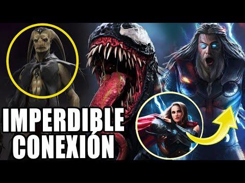 """¿Y SI PASA? Thor conectado con Venom 2 en """"Thor Love and Thunder"""" y Silver surfer, galactus y Gorr"""