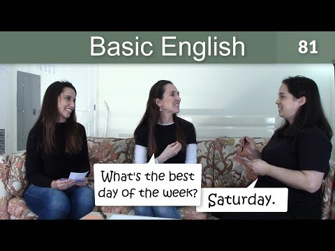 Lesson 81 ????? Basic English with Jennifer ?? Better, Best & Worse, Worst