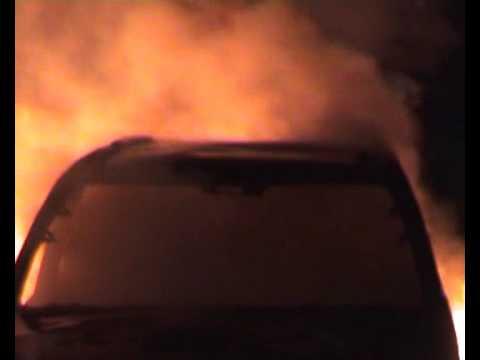 ขโมยรถมาแต่ไฟไหม้
