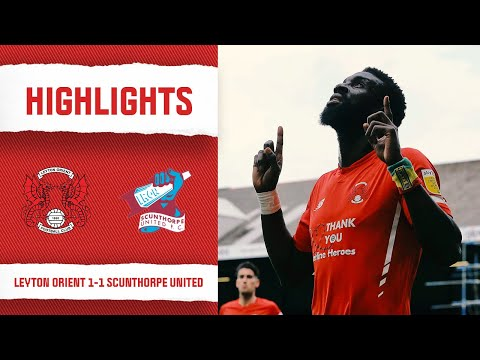 Leyton Orient Scunthorpe Goals And Highlights