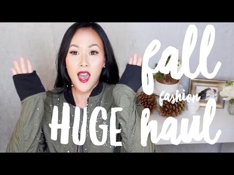 FALL CLOTHING HAUL | H&M, FOREVER 21, MARSHALLS