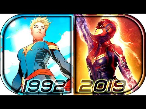 EVOLUTION of CAPTAIN MARVEL in Movies & Cartoons (1992-2019)🙀 Captain Marvel full movie scene 2019