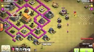 Clash of Clans-Top 5 Los peores ataques de clash of clans|Los Gigantes Voladores