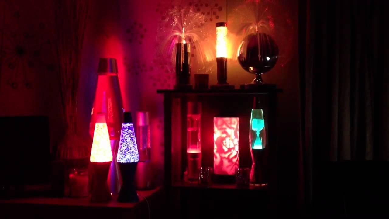 Lava lamp room - Lava Glitter And Motion Lamps