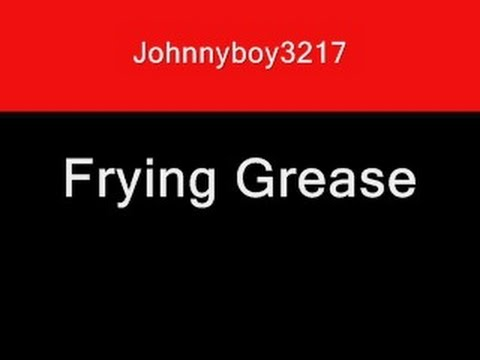 Frying grease sound effect