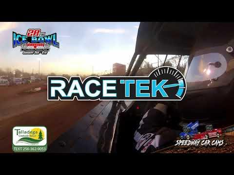 #32 Jeff Dean - KMSA Mini Stock - 1-6-19 Talladega Short Track - In Car Camera