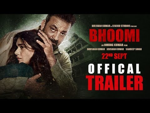 """Bhoomi Trailer"" (Official) Sanjay Dutt, Aditi Rao Hydari | Releasing 22 September"