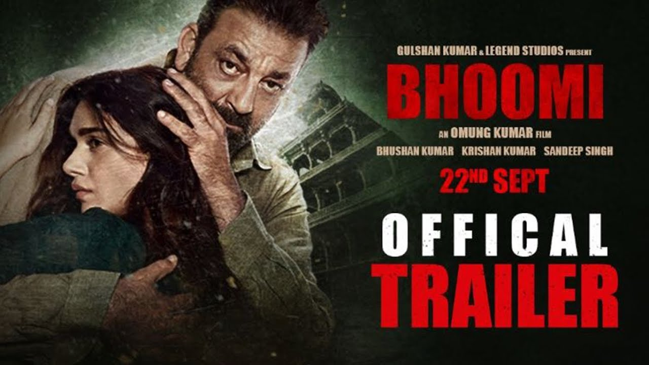 Bhoomi makes Sanjay Dutt returns to be appreciated - Trailer